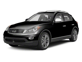 Malbec Black 2012 INFINITI EX35 Pictures EX35 Wagon 4D Journey AWD photos front view