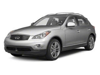 Liquid Platinum Metallic 2012 INFINITI EX35 Pictures EX35 Wagon 4D Journey AWD photos front view