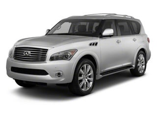 Liquid Platinum 2012 INFINITI QX56 Pictures QX56 Utility 4D 4WD photos front view