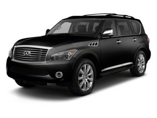 Black Obsidian 2012 INFINITI QX56 Pictures QX56 Utility 4D 2WD photos front view