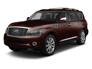 Dark Currant 2012 INFINITI QX56 Pictures QX56 Utility 4D 2WD photos front view