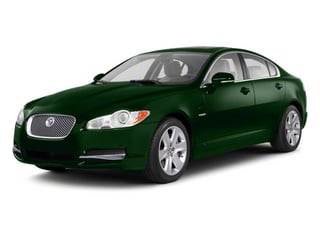 British Racing Green 2012 Jaguar XF Pictures XF Sedan 4D photos front view
