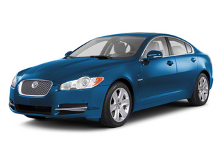 Crystal Blue 2012 Jaguar XF Pictures XF Sedan 4D photos front view
