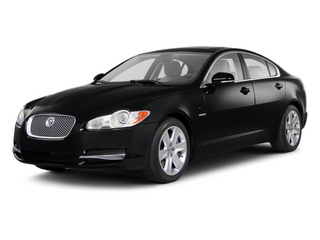 Ebony 2012 Jaguar XF Pictures XF Sedan 4D photos front view