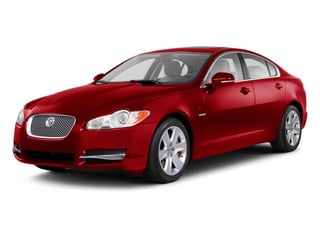 Italian Racing Red 2012 Jaguar XF Pictures XF Sedan 4D photos front view