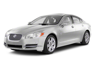 Polaris White 2012 Jaguar XF Pictures XF Sedan 4D photos front view