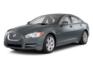 Rhodium Silver 2012 Jaguar XF Pictures XF Sedan 4D photos front view