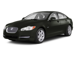 Taiga Green 2012 Jaguar XF Pictures XF Sedan 4D photos front view
