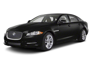 Midnight Black 2012 Jaguar XJ Pictures XJ Sedan 4D L photos front view
