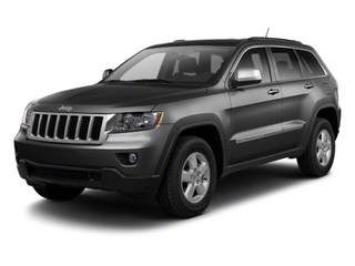 Maximum Steel Metallic 2012 Jeep Grand Cherokee Pictures Grand Cherokee Utility 4D Overland 2WD photos front view