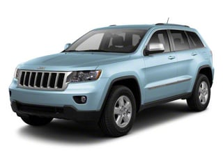 Winter Chill Pearl 2012 Jeep Grand Cherokee Pictures Grand Cherokee Utility 4D Overland 2WD photos front view
