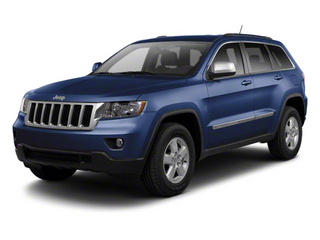 True Blue Pearl 2012 Jeep Grand Cherokee Pictures Grand Cherokee Utility 4D Overland 2WD photos front view