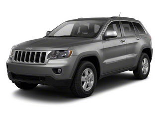 Mineral Gray Metallic 2012 Jeep Grand Cherokee Pictures Grand Cherokee Utility 4D SRT-8 4WD photos front view