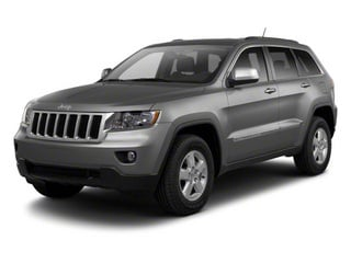 Mineral Gray Metallic 2012 Jeep Grand Cherokee Pictures Grand Cherokee Utility 4D Overland 2WD photos front view