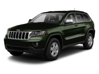 Black Forest Green Pearl 2012 Jeep Grand Cherokee Pictures Grand Cherokee Utility 4D Overland 2WD photos front view