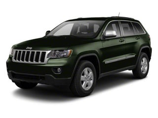 Black Forest Green Pearl 2012 Jeep Grand Cherokee Pictures Grand Cherokee Utility 4D Laredo 2WD photos front view