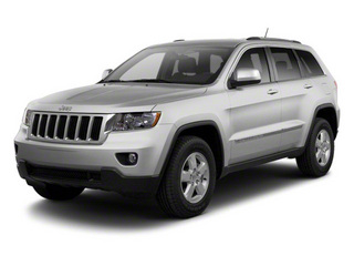 Bright Silver Metallic 2012 Jeep Grand Cherokee Pictures Grand Cherokee Utility 4D Overland 2WD photos front view