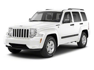 Bright White 2012 Jeep Liberty Pictures Liberty Utility 4D Sport 2WD photos front view