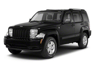 Brilliant Black Crystal Pearl 2012 Jeep Liberty Pictures Liberty Utility 4D Sport 2WD photos front view