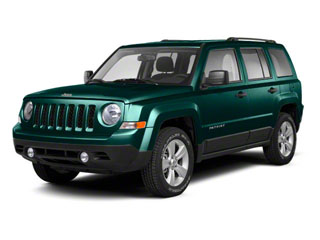 Onyx Green Pearl 2012 Jeep Patriot Pictures Patriot Utility 4D Latitude 2WD photos front view