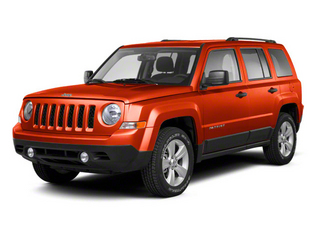 Copperhead Pearl 2012 Jeep Patriot Pictures Patriot Utility 4D Latitude 2WD photos front view