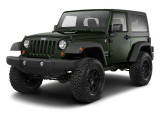 Black Forest Green Pearl 2012 Jeep Wrangler Pictures Wrangler Utility 2D Sahara 4WD photos front view