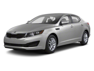 Bright Silver 2012 Kia Optima Pictures Optima Sedan 4D LX photos front view