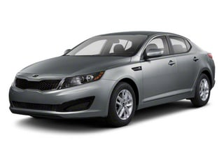 Titanium Metallic 2012 Kia Optima Pictures Optima Sedan 4D LX photos front view