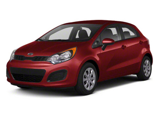 Signal Red 2012 Kia Rio Pictures Rio Hatchback 5D SX photos front view