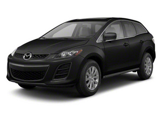 Brilliant Black 2012 Mazda CX-7 Pictures CX-7 Wagon 4D s GT AWD photos front view