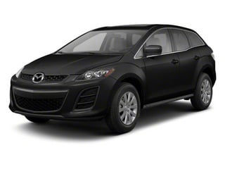 Brilliant Black 2012 Mazda CX-7 Pictures CX-7 Wagon 4D i Touring photos front view