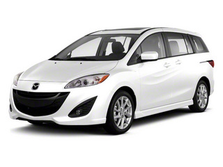 Crystal White Pearl 2012 Mazda Mazda5 Pictures Mazda5 Wagon 5D Touring photos front view