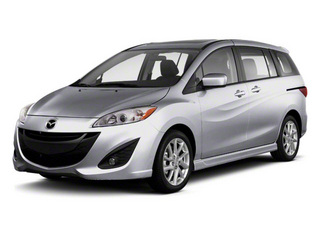 Liquid Silver Metallic 2012 Mazda Mazda5 Pictures Mazda5 Wagon 5D Touring photos front view
