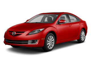 Fireglow Red 2012 Mazda Mazda6 Pictures Mazda6 Sedan 4D s photos front view