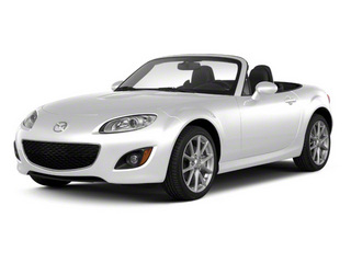 Crystal White Pearl Mica 2012 Mazda MX-5 Miata Pictures MX-5 Miata Convertible 2D GT photos front view