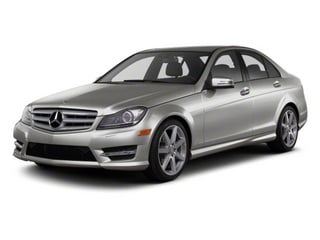 Palladium Silver Metallic 2012 Mercedes-Benz C-Class Pictures C-Class Sedan 4D C63 AMG photos front view
