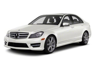 Diamond White Metallic 2012 Mercedes-Benz C-Class Pictures C-Class Sedan 4D C63 AMG photos front view