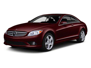 designo Mystic Red Metallic 2012 Mercedes-Benz CL-Class Pictures CL-Class Coupe 2D CL550 AWD photos front view