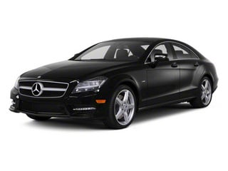 Black 2012 Mercedes-Benz CLS-Class Pictures CLS-Class Sedan 4D CLS63 AMG photos front view