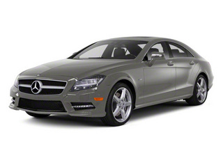 Palladium Silver Metallic 2012 Mercedes-Benz CLS-Class Pictures CLS-Class Sedan 4D CLS63 AMG photos front view