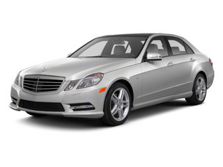Palladium Silver Metallic 2012 Mercedes-Benz E-Class Pictures E-Class Sedan 4D E550 AWD photos front view