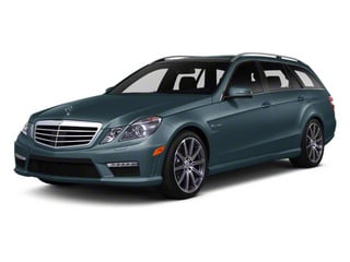 Quartz Blue Metallic 2012 Mercedes-Benz E-Class Pictures E-Class Wagon 4D E350 AWD photos front view
