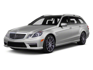 Indium Grey Metallic 2012 Mercedes-Benz E-Class Pictures E-Class Wagon 4D E350 AWD photos front view