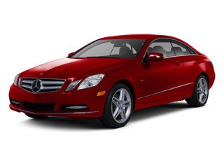 Mars Red 2012 Mercedes-Benz E-Class Pictures E-Class Coupe 2D E550 photos front view