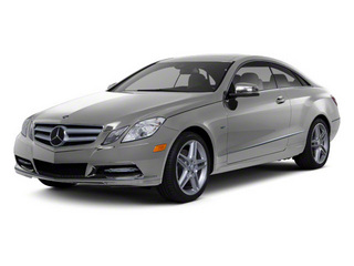 Palladium Silver Metallic 2012 Mercedes-Benz E-Class Pictures E-Class Coupe 2D E550 photos front view