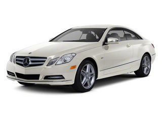 Diamond White Metallic 2012 Mercedes-Benz E-Class Pictures E-Class Coupe 2D E550 photos front view