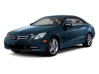 Lunar Blue Metallic 2012 Mercedes-Benz E-Class Pictures E-Class Coupe 2D E550 photos front view