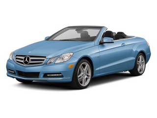 Quartz Blue Metallic 2012 Mercedes-Benz E-Class Pictures E-Class Convertible 2D E350 photos front view