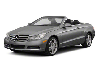 Palladium Silver Metallic 2012 Mercedes-Benz E-Class Pictures E-Class Convertible 2D E350 photos front view