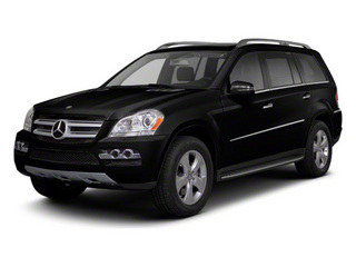 Black 2012 Mercedes-Benz GL-Class Pictures GL-Class Utility 4D GL550 4WD photos front view